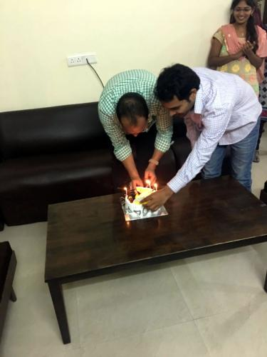 Team Member Birthday Celebration